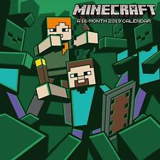 Brand new official 2019 Square Wall Calendar - Minecraft Video Game