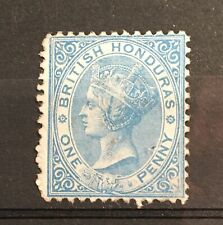 British Honduras. SG17 1d Blue. MM