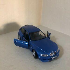 UT Models 1/18 Scale Diecast - 20431 BMW Z3M Coupe Metallic Blue $$$$$