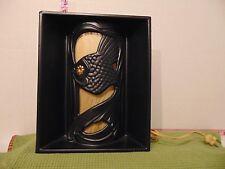 Royal Haegar Art Deco Mid-Century Black Fish TV Lamp