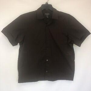 Banana Republic Cotton Blend XL Short Sleeve Button Front Shirt