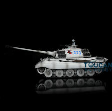HengLong 1/16 King Tiger RTR RC Tank 360 Degree Turret Track Wheels 3888A Snow