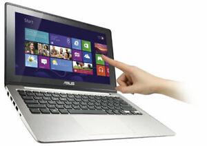 "ASUS X202E 11.6"" Touch Screen Ultrabook Celeron 847 CPU 4G RAM 320G HDD Win10"