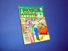 ARCHIE ANNUAL DIGEST #34 Comics in full color 1979 BETTY AND VERONICA JUGHEAD