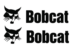 BOBCAT DECALS QTY (2 items) Free shipping Die Cut