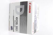 EMPTY BOX AND MANUAL + DISK FOR CANON EOS 20D DIGITAL CAMERA