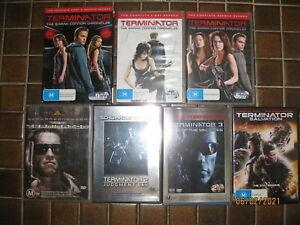 Ultimate Terminator Collection: Sarah Connor Box Set + 5 x Movies DVD (14 discs)
