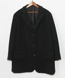 Jil Sander Tailor Made Cashmere SOFT Chester Coat Overcoat Single Breast 52 42 R