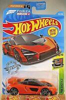 2019 Hot Wheels #162 Exotics 4/10 FORZA Horizon 4 McLAREN SENNA Orange Variant