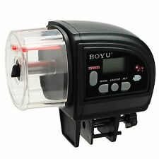 BOYU ZW-82 Automatic Fish Food Feeder for Aquarium Fish Tank Holiday Timer