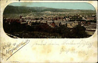 Neustadt an der Weinstraße Haardt Panorama Stadt Häuser 1897 nach Neunkirchen