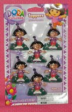 Dora the Explorer Cupcake Party Toppers,Plastic,Wilton,Multi-Color,2113-6300