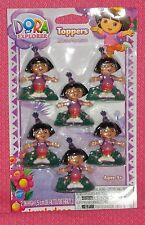 Dora the Explorer Cupcake Party Toppers,Plastic,Wilton,Multi-Color,2113-6300