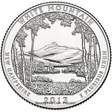 2013 White Mountain National Forest Quarter Philadelphia Denver 2 Coin Set