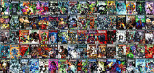 Vintage Comic Book Covers COLLAGE Super Héros & Méchants Giant Poster Art Print