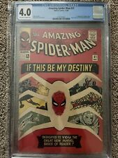 Amazing Spider-Man 31 CGC 4.0 1st appearance of 🕸Gwen Stacy🕸