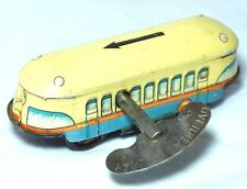 Rare antique vintage tin toy Chad Valley Overhead Railway Clockwork toy