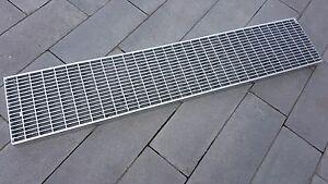 Industrie Gitterrost 200x1000 MW30/10 Tragstab 30/2 mm,befahrbar,Rinnenrost