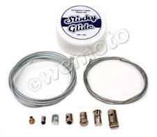 Universal Motorcycle Clutch Throttle Brake Choke Cable - Emergency Repair Kit