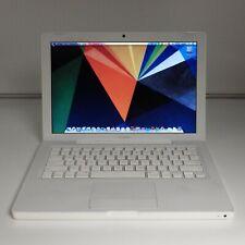 APPLE MAC BOOK 13 A1181 2242 LATE 2008 CORE 2 128 SSD LAPTOP COMPUTER NOTEBOOK