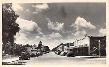 1930's? RPPC Stores Gas Station Old Cars Business District New Port Richey FL