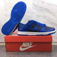 Nike Dunk Low Retro Hyper Cobalt Black White DD1391-001 2021 Men's Size 8.5
