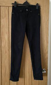 SISLEY 'Paris' Black Super Skinny Fit Jeans W26 L29