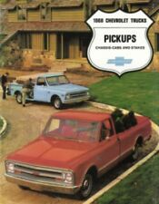 CHEVROLET 1968 Truck Sales Brochure 68 Chevy Pick Up