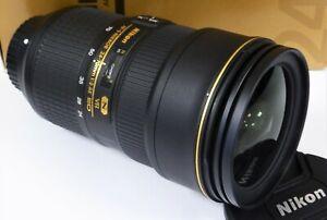 Nikon 24-70mm f/2.8 E ED AF-S VR Latest Version - Mint minus condition & Boxed