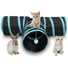 Tunnel de 3 Voies pour le chat Tunnel de jeu pliable pour le chat et les an A5P9