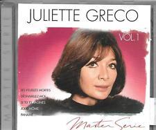 CD COMPIL 16 TITRES--JULIETTE GRECO--MASTER SERIE VOL 1