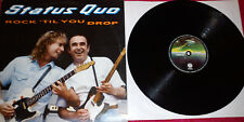 "STATUS QUO ""ROCK 'TIL YOU DROP"" RARE SPANISH 12"" VINYL / ROSSI"