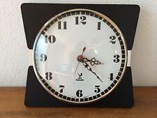 Belle Horloge JAZ  NOIRE Vintage   Des Années 50's  AOUT A