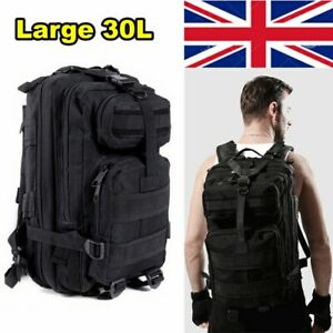 30L Tactical Backpack Military Molle Assault Pack Rucksack Cadet Army Men's Bag