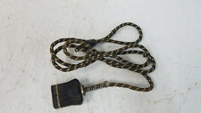 Vintage Excel Cloth Covered Electric Power Cord Made In Usa for Small Appliances