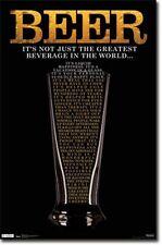 DRINKING POSTER Beer Greatest Beverage