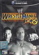 WWE WRESTLEMANIA X8 for Nintendo Gamecube - with box & manual