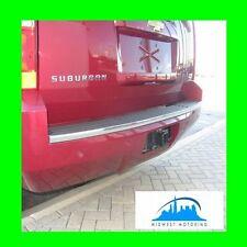 2007 2014 Chevy Chevrolet Precut Tahoe Suburban Chrome Rear Bumper Trunk Molding Fits 2007 Chevrolet Suburban 1500