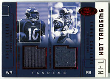2002 Hot Prospects ASHLEY LELIE RC TRUNG CANIDATE Dual Jersey Red Tandems SP /10