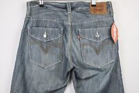 VINTAGE Mens LEVIS Jeans 514 STRAIGHT Zip Fly SHABBY CASUALS W32 L34  P19