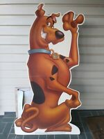 1999 vintage Rare Scooby Doo  Cardboard Cut Out Store Display