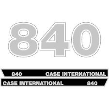 Case International 840 tractor decal aufkleber sticker set