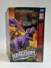 Transformers War For Cybertron Kingdom Leader Class Megatron (Beast Mode)8+