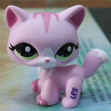 """IN HAND LPS PRESCHOOL  LIGHT PINK CAT  FIGURE 3"""" Littlest pet shop"""