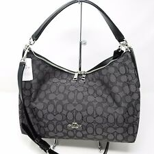Coach F58284 East/West Celeste Convertible Hobo in Outline Signature Handbag