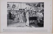 1896 BOER WAR ERA IDLERS ON BOARD A MAN OF WAR ROYAL NAVY
