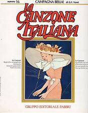 GIORGIO CONSOLINI NELLA COLOMBO disco LP CAMPAGNA BELLA La Canzone italiana n.16