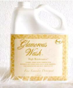 HIGH MAINTENANCE GLAMOROUS GLAM WASH 128oz GALLON TYLER CANDLE LAUNDRY DETERGENT