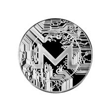 Monero Silver Cryptocurrency Collectors Coin