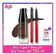 SACE LADY 6 Colors Henna Eyebrow Gel Waterproof Tint Makeup Brush Set Brown